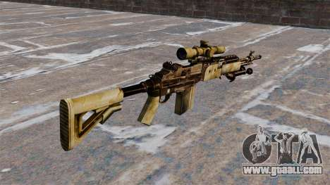 Sniper rifle M21 Mk14 for GTA 4 second screenshot