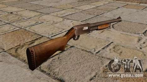 Remington pump-action shotgun for GTA 4 second screenshot