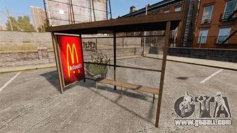 New posters at bus stops for GTA 4 third screenshot
