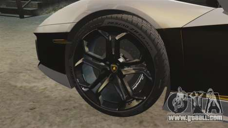 Lamborghini Aventador LP700-4 2012 v2.0 [EPM] for GTA 4 inner view