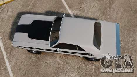 Dodge Challenger 1971 v1 for GTA 4 right view