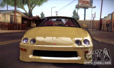 Honda Integra Drift for GTA San Andreas back left view