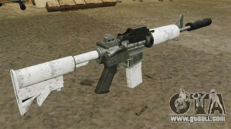 Automatic carbine M4 updated for GTA 4 second screenshot