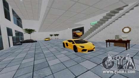Motor Show Lamborghini for GTA 4 fifth screenshot
