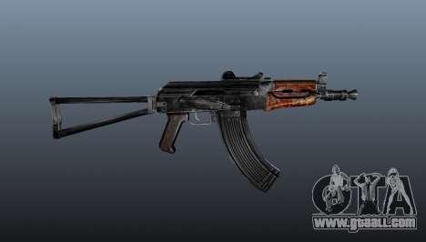 Automatic AKS74U for GTA 4 third screenshot