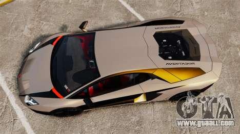 Lamborghini Aventador LP700-4 2012 v2.0 [EPM] for GTA 4 right view