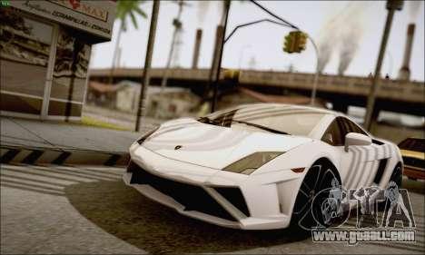 Lamborghini Gallardo LP560-4 2013 for GTA San Andreas