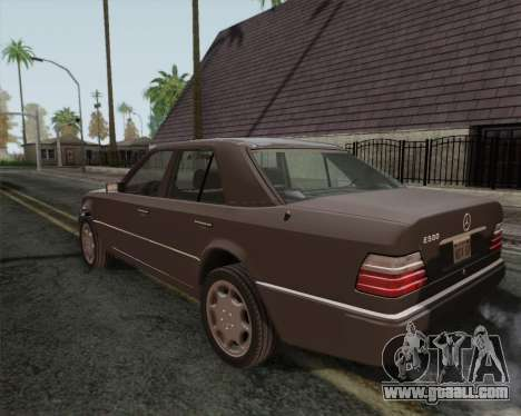 Mercedes-Benz W124 E500 for GTA San Andreas left view