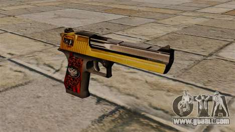 Desert Eagle Pistol Special for GTA 4