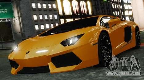 Lamborghini Aventador LP700-4 [EPM] 2012 for GTA 4 engine