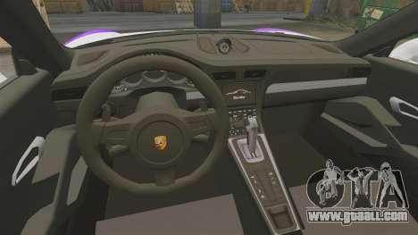 Porsche 911 Turbo 2014 [EPM] America for GTA 4 inner view