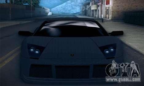 Lamborghini Murcielago GT Carbone for GTA San Andreas engine