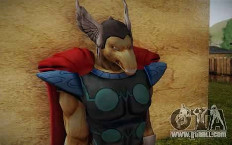 Beta Ray Bill for GTA San Andreas third screenshot