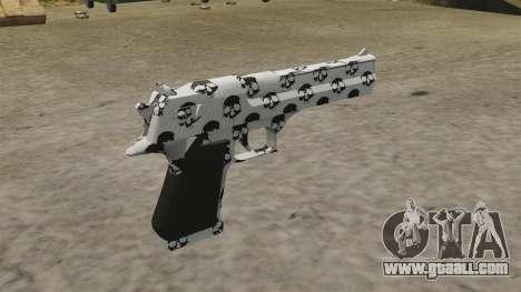 Pistol Desert Eagle Skull for GTA 4 second screenshot