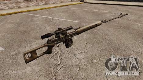 Dragunov sniper rifle v2 for GTA 4 second screenshot