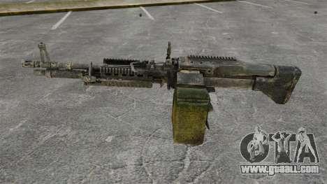 General-purpose machine gun M60E4 for GTA 4 third screenshot