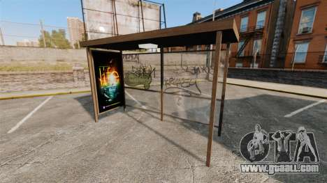 New posters at bus stops for GTA 4 forth screenshot