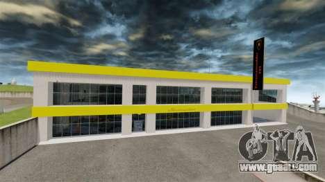 Motor Show Lamborghini for GTA 4