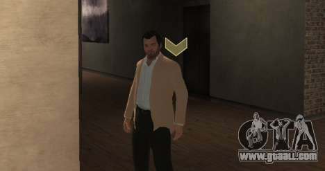 Michael De Santa from GTA V for GTA 4 third screenshot