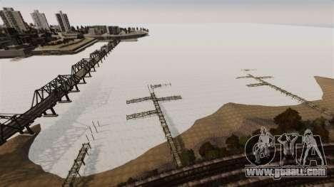 Frozen water for GTA 4 sixth screenshot