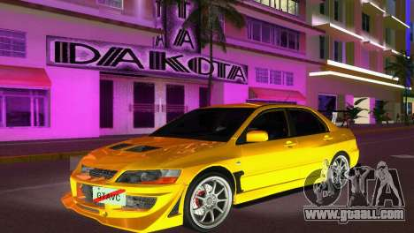 Mitsubishi Lancer Evolution VIII Type 8 for GTA Vice City