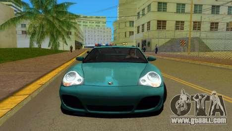 Porsche 911 Turbo for GTA Vice City left view
