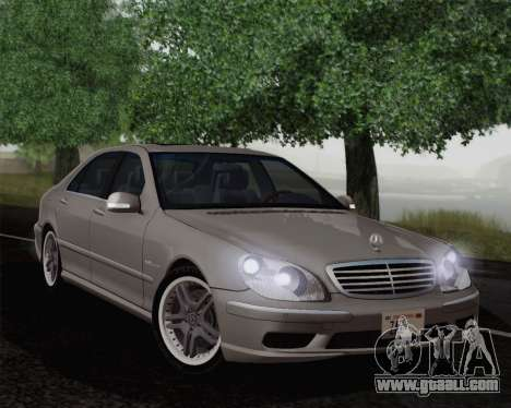 Mercedes-Benz AMG S65 2004 for GTA San Andreas