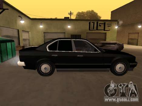 BMW 520i e34 for GTA San Andreas left view