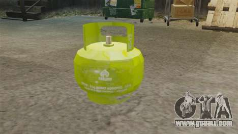 Gas bomb for GTA 4