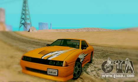 The Painting Work For Elegy for GTA San Andreas