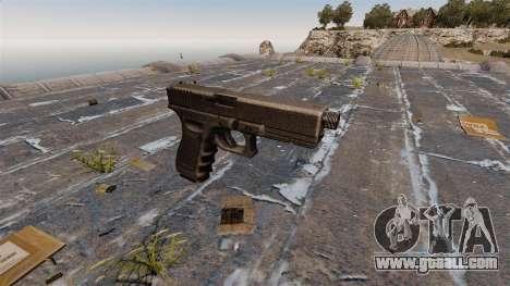 Glock 17 self-loading pistol for GTA 4