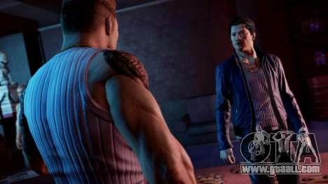 Boot screen Sleeping Dogs for GTA 4 fifth screenshot