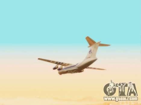 Il-76td Gazpromavia for GTA San Andreas inner view