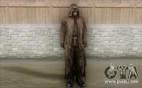 Bandit in the cloak for GTA San Andreas