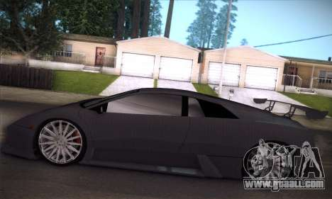 Lamborghini Murcielago GT Carbone for GTA San Andreas wheels