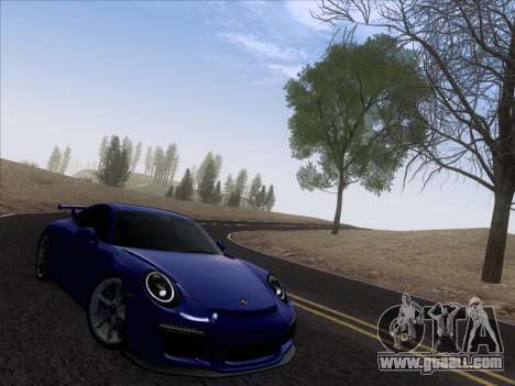 Porsche 911 GT3 2014 for GTA San Andreas right view