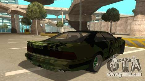 BMW 850CSi 1996 Military Version for GTA San Andreas right view