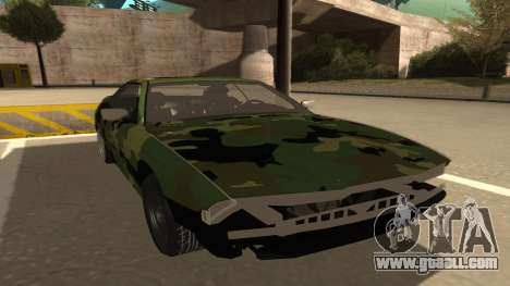 BMW 850CSi 1996 Military Version for GTA San Andreas left view