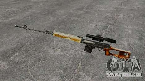 Dragunov sniper rifle v1 for GTA 4 third screenshot