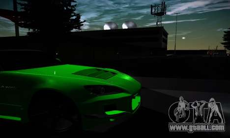 Honda S2000 Amuse GT1 for GTA San Andreas inner view