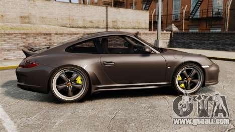 Porsche 911 Sport Classic 2010 for GTA 4 left view