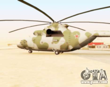 MI-26 for GTA San Andreas left view
