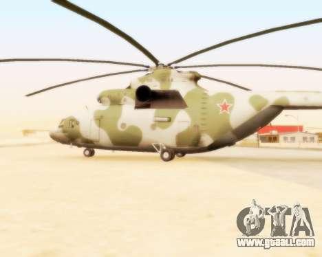 MI-26 for GTA San Andreas left view