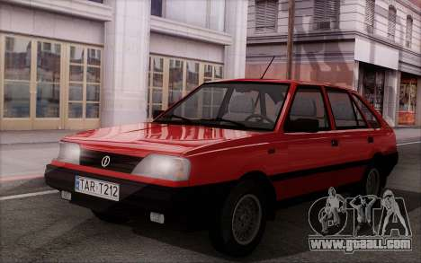 FSO Polonez Caro 1.4 GLI 16V for GTA San Andreas inner view