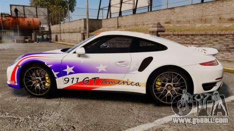 Porsche 911 Turbo 2014 [EPM] America for GTA 4 left view