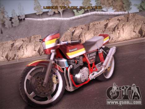 Kawasaki Z-400FX Street Drag T2 for GTA San Andreas