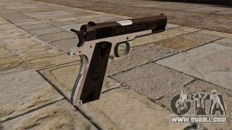 Semiautomatic pistol Taurus PT1911 for GTA 4 second screenshot