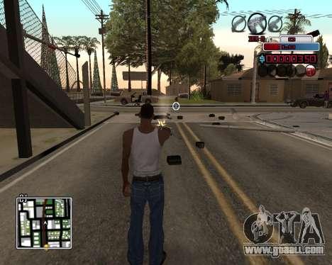 C-HUD by Braun for GTA San Andreas
