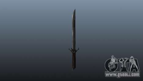 Dishonored Corvos Blade for GTA 4