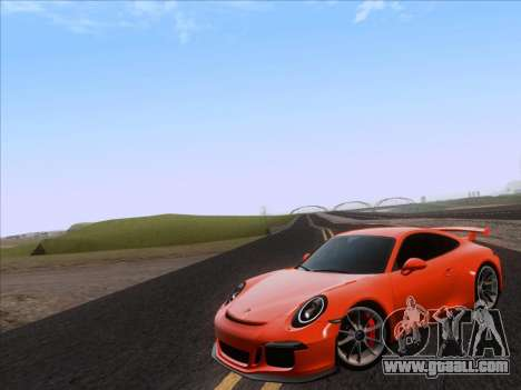 Porsche 911 GT3 2014 for GTA San Andreas left view